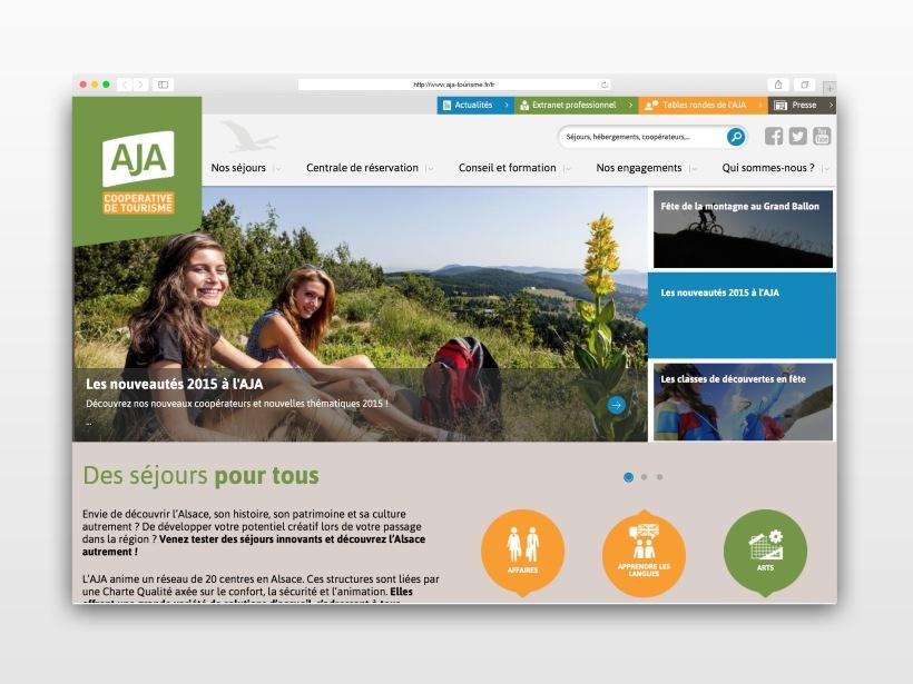 Site Web - Coopérative AJA
