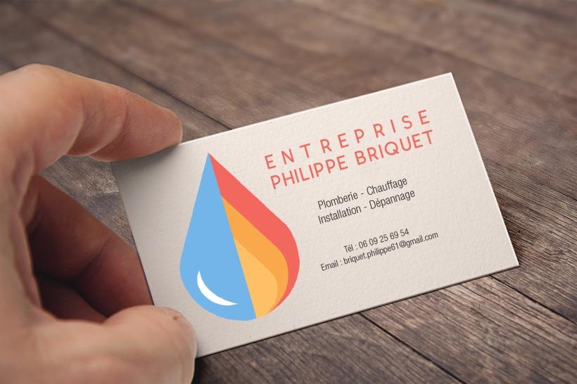 Business Card - Philippe Briquet