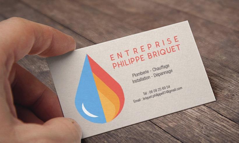 Entreprise Philippe Briquet Cartes de visite