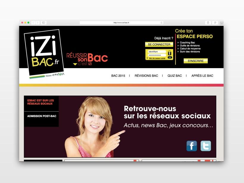 Site Web - IziBac