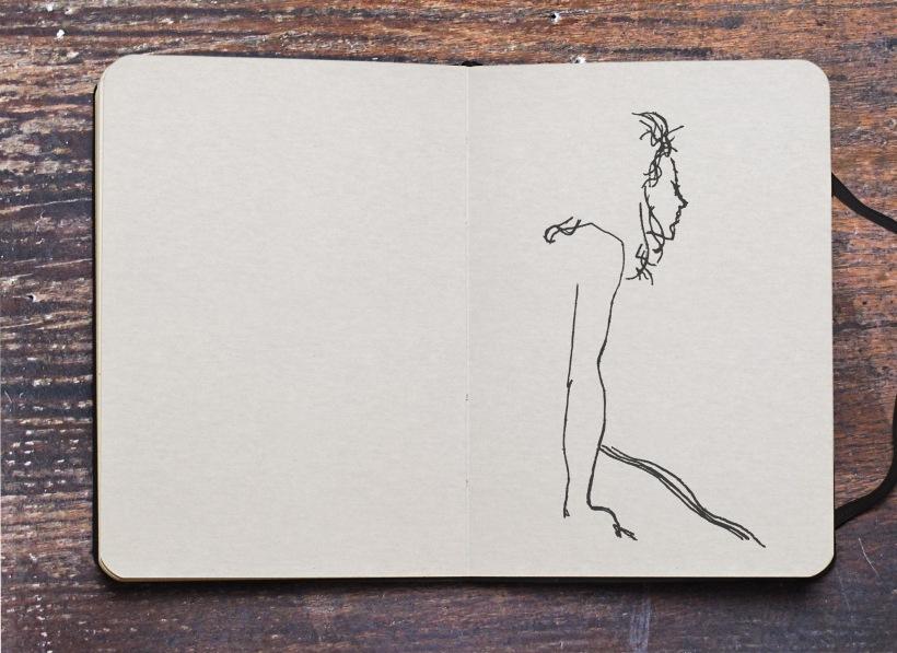 Sketch Moleskine Marine Chapoutot