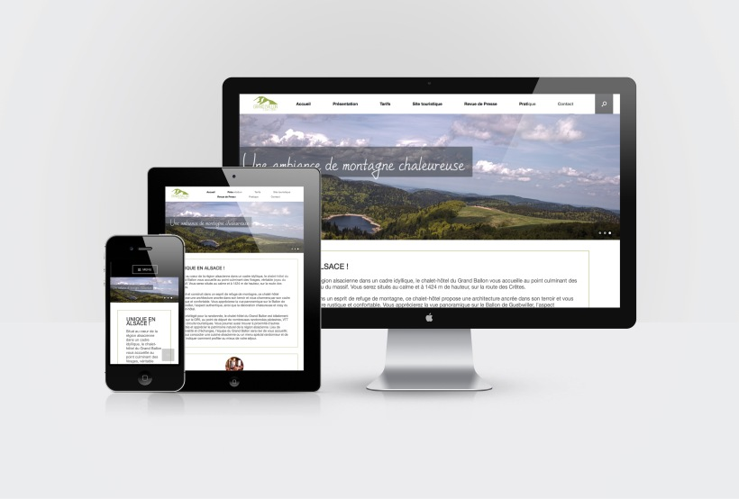 Web Design Grand Ballon