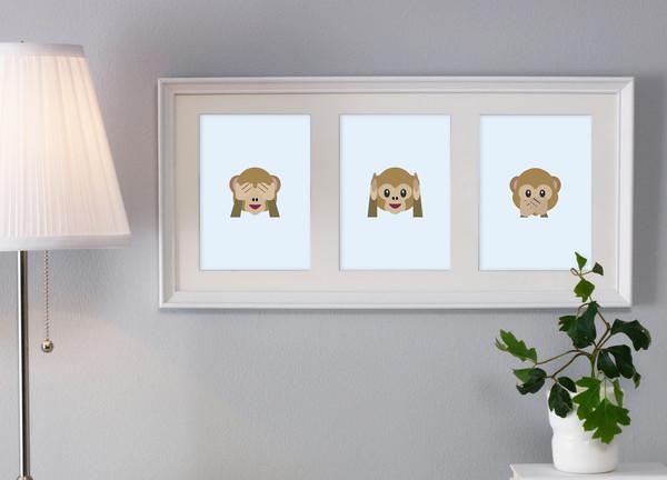 Emoji singes