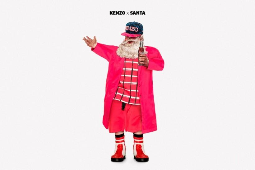 Santa Designer - Kenzo