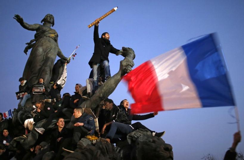 Charlie Hebdo - Place de la République