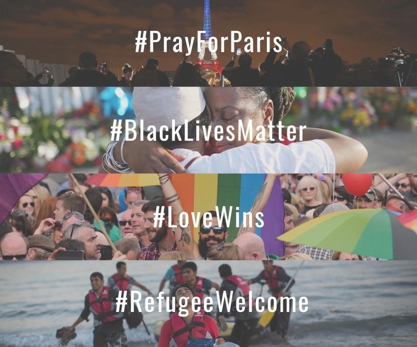 Hashtags marquant de 2015 sur Twitter