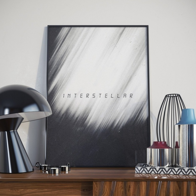 Affiche Film - Interstellar