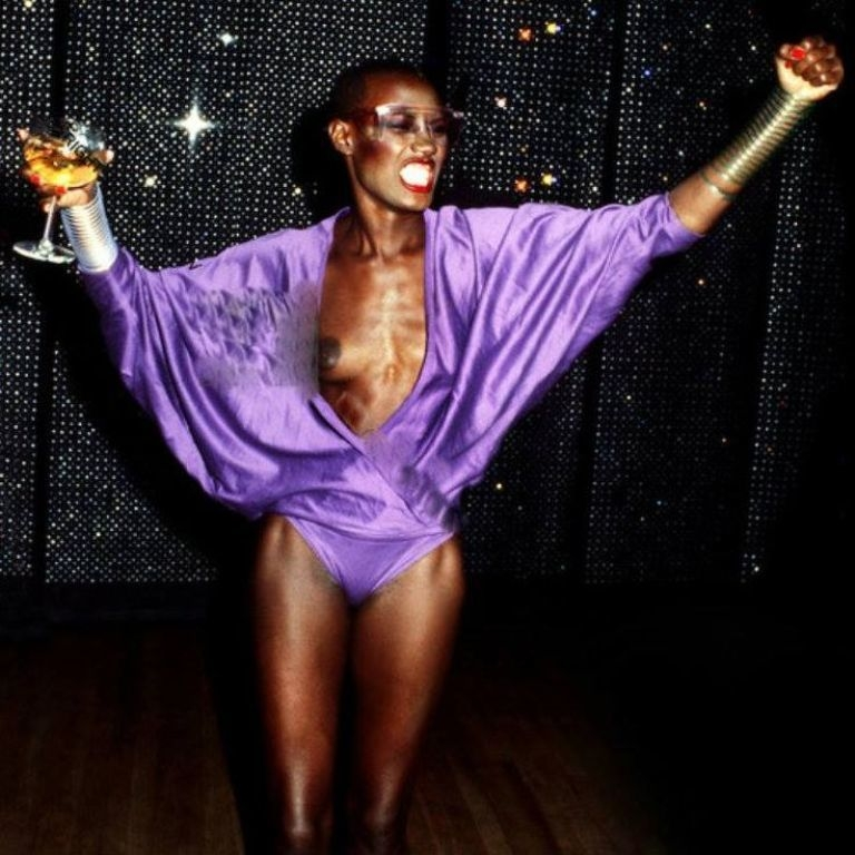 Grace Jones at Studio 54.