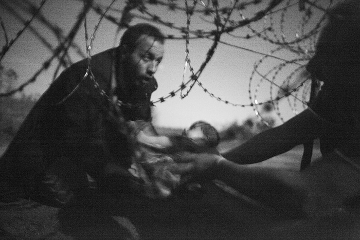 Warren Richardson:World Press Photo 2016