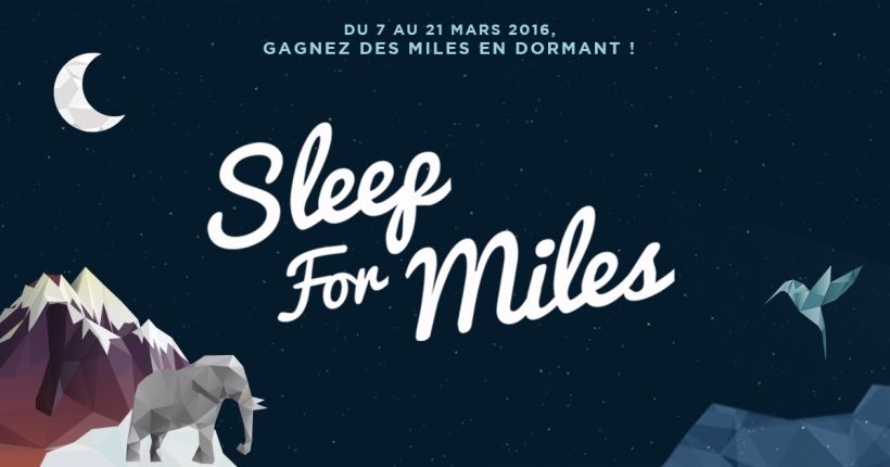 Sleep For Miles - Air France : American Express