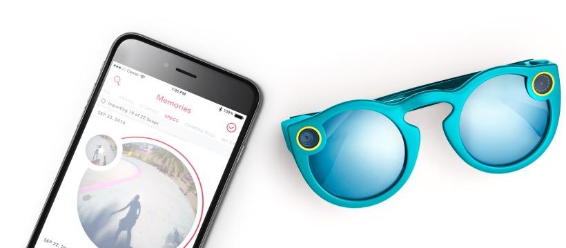 Les lunettes connectées Snapchat à 130 dollars