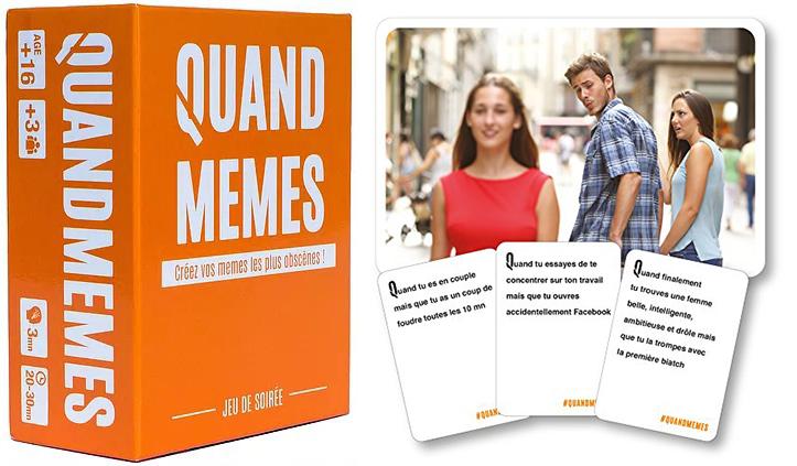 Jeu de société Quand Memes