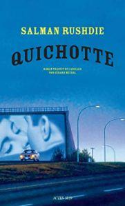 """couverture de livre """"Quichotte"""" de Salman Rushdie (Éditions Actes Sud)"""