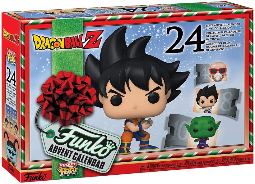 "Calendrier de l'Avent Funko Pop! ""Dragon Ball Z"""