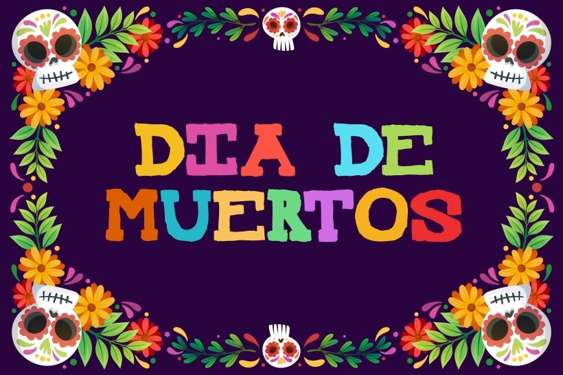 Typographie gratuite Mexican Knappett pour Halloween