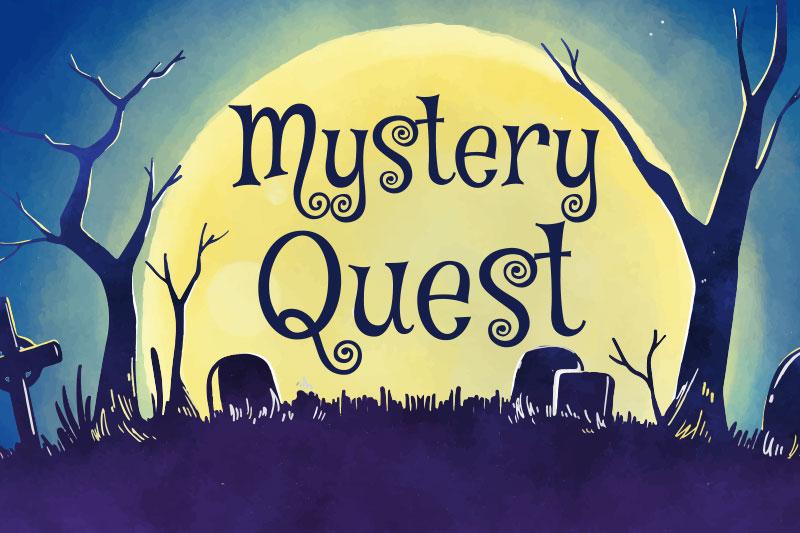 Typographie gratuite Mystery Quest